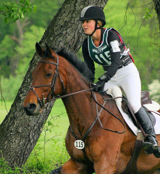 Jessica Phoenix on Exploring (Credit: USEA)